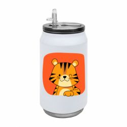 Термобанка 350ml Striped tiger with smile