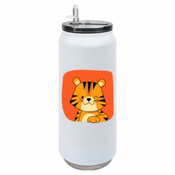 Термобанка 500ml Striped tiger with smile