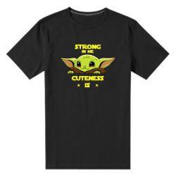 Мужская стрейчевая футболка Strong in me
