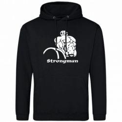 Мужская толстовка Strongman - FatLine