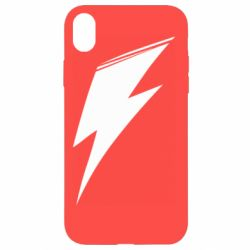 Чохол для iPhone XR Stylized lightning