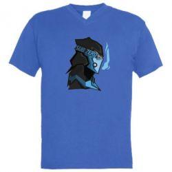 Мужская футболка  с V-образным вырезом Sub-Zero - FatLine