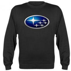 Реглан (свитшот) Subaru 3D Logo - FatLine