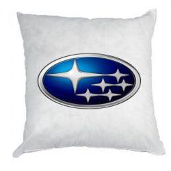 Подушка Subaru 3D Logo - FatLine