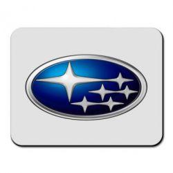 Коврик для мыши Subaru 3D Logo - FatLine