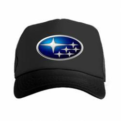 Кепка-тракер Subaru 3D Logo - FatLine
