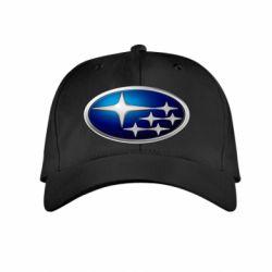 Детская кепка Subaru 3D Logo - FatLine