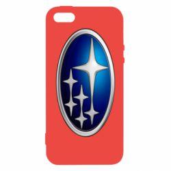 Купить Чехол для iPhone5/5S/SE Subaru 3D Logo, FatLine