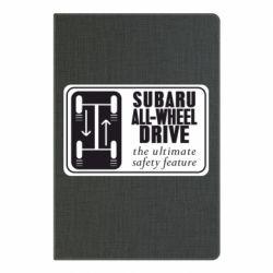 Блокнот А5 Subaru All-Wheel
