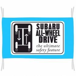 Прапор Subaru All-Wheel