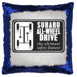 Подушка-хамелеон Subaru All-Wheel