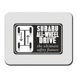 Коврик для мыши Subaru All-Wheel - FatLine