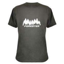 Камуфляжная футболка Subaru Forester
