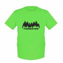 Детская футболка Subaru Forester