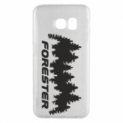 Чехол для Samsung S6 EDGE Subaru Forester
