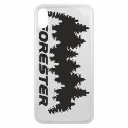 Чехол для iPhone Xs Max Subaru Forester