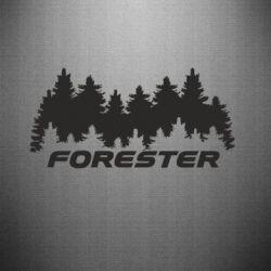 Наклейка Subaru Forester