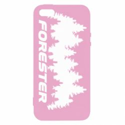 Купить Чехол для iPhone5/5S/SE Subaru Forester, FatLine