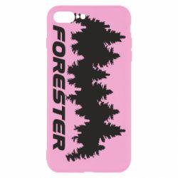 Чехол для iPhone 8 Plus Subaru Forester