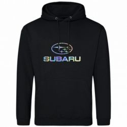 Мужская толстовка Subaru  Голограмма