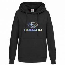 Женская толстовка Subaru  Голограмма