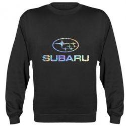 Реглан (свитшот) Subaru  Голограмма
