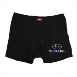 Мужские трусы Subaru  Голограмма