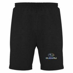 Мужские шорты Subaru  Голограмма