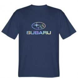 Футболка Subaru  Голограмма