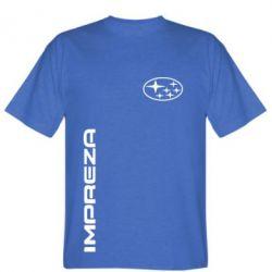 Мужская футболка Subaru Impreza - FatLine