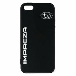 Купить Чехол для iPhone5/5S/SE Subaru Impreza, FatLine
