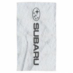 Полотенце Subaru logo