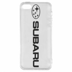 Купить Чехол для iPhone5/5S/SE Subaru logo, FatLine