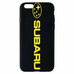Чехол для iPhone 6 Subaru logo