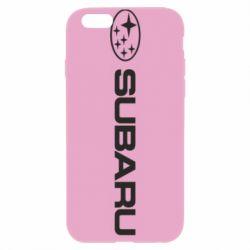 Чехол для iPhone 6 Plus/6S Plus Subaru logo