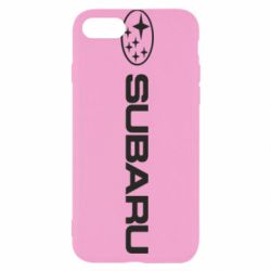 Чехол для iPhone 7 Subaru logo