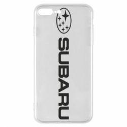 Чехол для iPhone 7 Plus Subaru logo