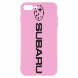 Чехол для iPhone 8 Plus Subaru logo