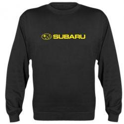 Реглан (свитшот) Subaru logo - FatLine