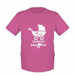 Детская футболка Subaru Mafia