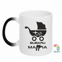 Кружка-хамелеон Subaru Mafia