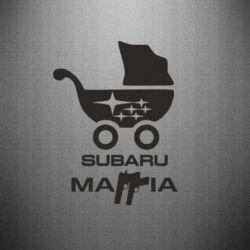 Наклейка Subaru Mafia