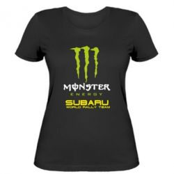 Жіноча футболка Subaru Monster Energy