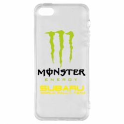 Купить Чехол для iPhone5/5S/SE Subaru Monster Energy, FatLine