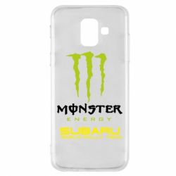 Купить Чехол для Samsung A6 2018 Subaru Monster Energy, FatLine