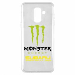 Купить Чехол для Samsung A6+ 2018 Subaru Monster Energy, FatLine
