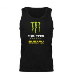 Мужская майка Subaru Monster Energy - FatLine