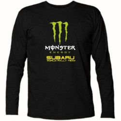 Футболка с длинным рукавом Subaru Monster Energy
