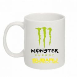 Кружка 320ml Subaru Monster Energy - FatLine
