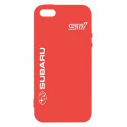 Купить Чехол для iPhone5/5S/SE Subaru STI Logo, FatLine